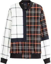 3.1 Phillip Lim Checked Cotton Jacket - Lyst