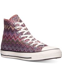 Converse Women'S Chuck Taylor All Star Hi Top Casual Sneakers From Finish Line - Lyst