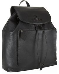 Vivienne Westwood Orb Leather Backpack - Lyst