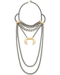 Laura Cantu - Layered Statement Necklace - Lyst