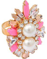 Shourouk Lady Woolit Ring - Multicolor