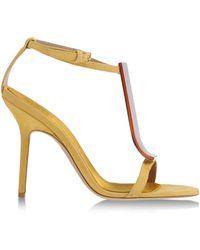Burberry Prorsum Sandals - Lyst