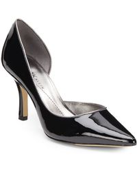 Ak Anne Klein Catherine Patent D'Orsay Pumps - Lyst