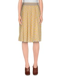 Taviani - Knee Length Skirt - Lyst
