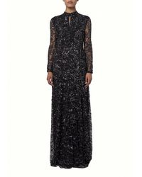 Matthew Williamson Evening Couture Embroidered Lace Gown - Lyst
