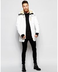 Clwr Parka With Insulation - White