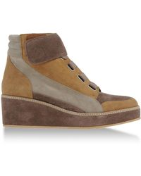 Surface To Air Brown Hightops  Trainers - Lyst