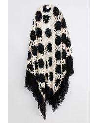 Zadig & Voltaire Charlie Crochet Ma Shawl - Lyst