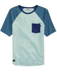Wesc Carson Raglan Colorblocked Tshirt - Lyst