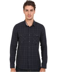 Volcom | Grid Long Sleeve Flannel | Lyst