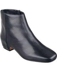 Nine West Huggins Leather Or Suede Booties - Lyst