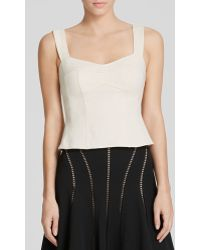 Nanette Lepore Top - Wineland Corset - Lyst