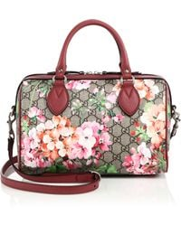 Gucci | Blooms Gg Supreme Top-handle Bag | Lyst