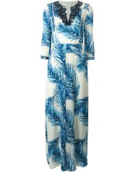 Tory Burch Baltic Sea Dress - Lyst