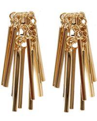 Eddie Borgo Fringe Earrings - Lyst