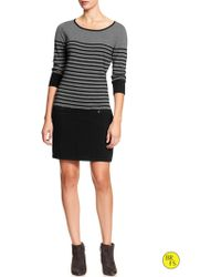 Banana Republic Factory Stripe Sweater Dress - Lyst