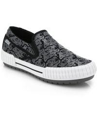 Kenzo Hevyn Tiger Slip-On Sneakers - Lyst