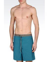 Armani - Swimsuit In Technical Fabric - Lyst