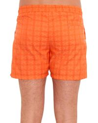 Make Your Odyssey - Lido 1 Parasol-jacquard Swim Shorts - Lyst