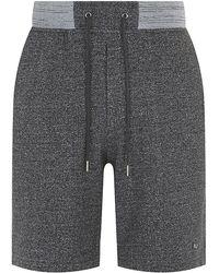 Marc Jacobs Lochlan Speckled Sweatshorts gray - Lyst