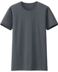 Uniqlo Men Airism Mesh Crewneck T-Shirt (Short Sleeve) - Lyst
