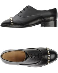 Tila March Lace-up Shoes - Black