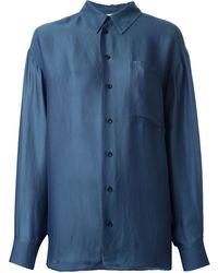 Stella McCartney Blue Classic Shirt - Lyst