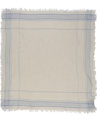 Mauro Grifoni Gray Square Scarf - Lyst