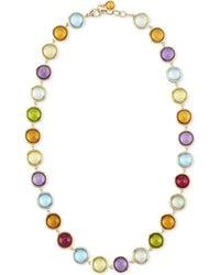 Goshwara - Mischief Multi-stone Cabochon Necklace - Lyst