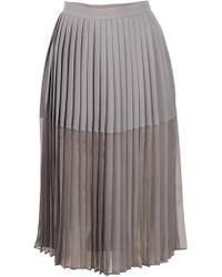 By Malene Birger Preorder Atarha Pleated Skirt - Lyst