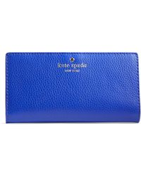 Kate Spade Cobble Hill Stacy Wallet - Blue