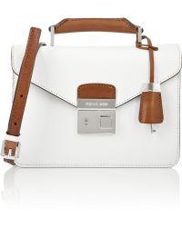 Michael Kors Brompton Mini Briefcase Leather Shoulder Bag - Lyst