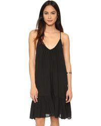 9seed St Tropez Mini Dress - Black