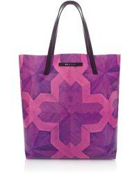 House of Holland Tote Amaze Purple Parquet purple - Lyst