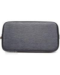 Louis Vuitton Pre-owned Black Epi Leather Alma Pm Bag - Lyst