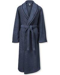Calvin Klein - Dolmite Cotton Bath Robe - Lyst
