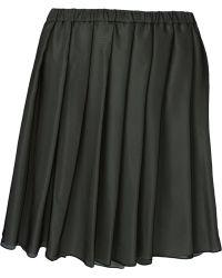 Aspesi Pleated Skirt - Lyst