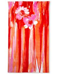 Natori Orange & Pink Thien Nectar Beach Towel - Lyst