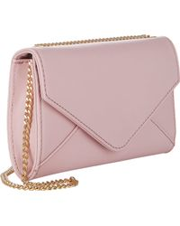Barneys New York Hannah Chain Wallet pink - Lyst