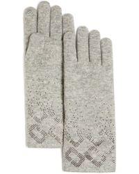 Diane von Furstenberg - Chainlink Gloves - Lyst