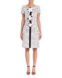 Carolina Herrera | Eyelash Tweed Dress | Lyst