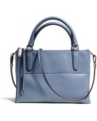 Coach The Mini Borough Bag in Pebbled Leather - Lyst