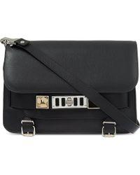 Proenza Schouler Ps11 Leather Shoulder Bag Black - Lyst