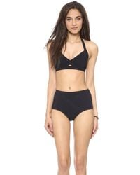 VPL - Convexity Swim Bikini Bottoms Black - Lyst