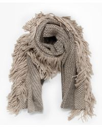 Rachel Comey - Fringe Scarf In Taupe - Lyst