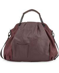 L.a.m.b. Ember Leather Hobo Bag - Lyst