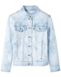 Tory Burch Birdie Jacket - Blue