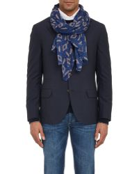 Luciano Barbera - Abstract Geometric Scarf - Lyst