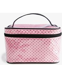 Forever 21 - Polka Dot Cosmetic Bag - Lyst