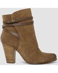 AllSaints | Victoria Heel Boot | Lyst